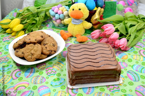 Desserts of Chocolate for Easter