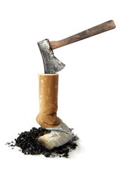cigarette and Axe