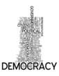 "Word Cloud ""Democracy"""