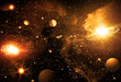 Fototapete Astronomie - Hintergrund - Andere