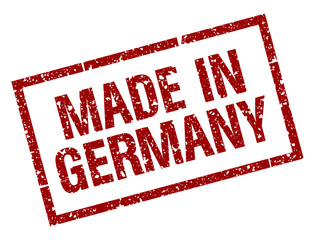 Stempel - Made In Germany (Freigestellt)