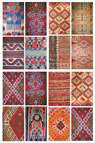 carpets collage