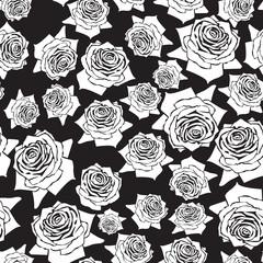 seamless pattern roses