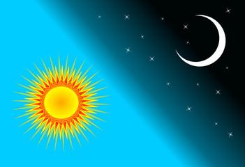 słońce i księżyc
