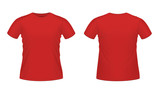 Red men's T-shirt