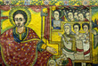 Leinwandbild Motiv ethiopian church paintings
