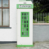telephone booth, Malin, County Donegal, Ireland
