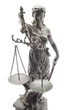 Justitia von oben