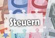 Steuern - Konzept Geld und Finanzamt