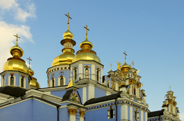 Mihailovskiy cathedral in Kiev