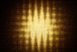 abstract grunge zigzag on canvas poster