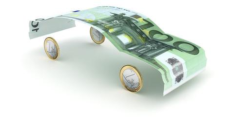 100-Euro-Car