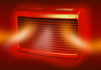 AC Unit Heat Front