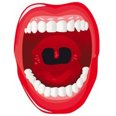 Human mouth