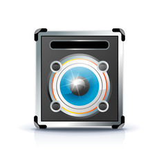 cabinet speaker icon