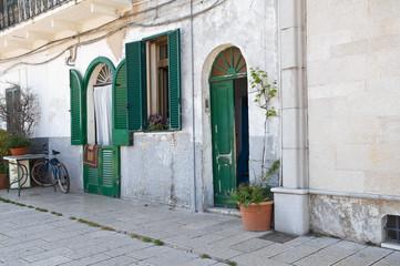 Typical house. Bari. Apulia.
