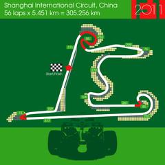 F1 China circuit 2011