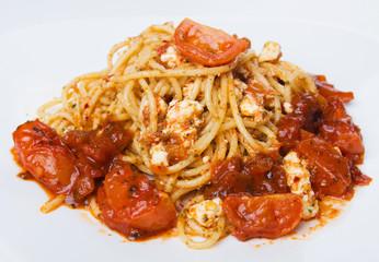 Italian spaghetti pasta