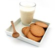 Leche con galletas