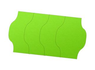 Grünes Preisschild / Preisaufkleber