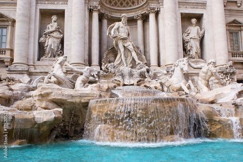 canvas print picture Roma, Fontana di Trevi