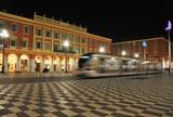 Tramway à grande vitesse de nuit Nice Côte d'Azur