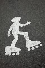 Piste pour Roller Skating