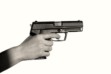 hand with the colt