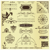 Page Embellishments - elements poster