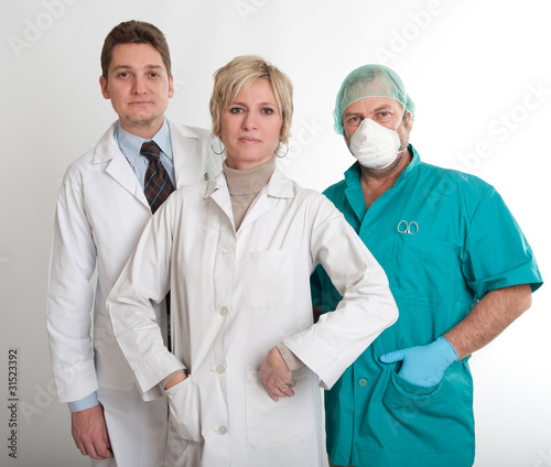 Hospital working team