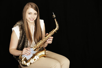 Play Saxophon