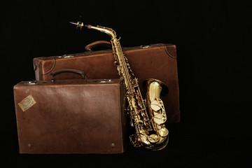 Saxophon auf Reisen