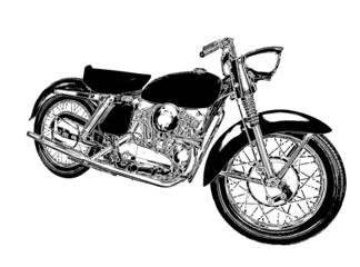 motocykl rysunek