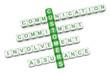 Customer relations crossword 3D