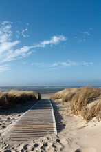 Playa del Mar del Norte en Langeoog
