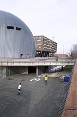Skaten in centrum Almere