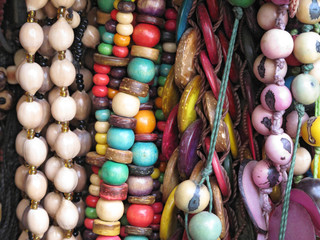 Ancient colorful Necklaces
