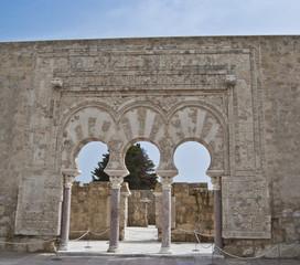 Prime Minister's door, Medina Azahara