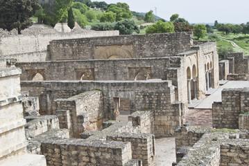 partial view of the ruins of Medina Azahara