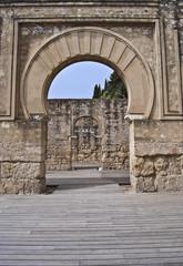 Inside the military house of Medina Azahara