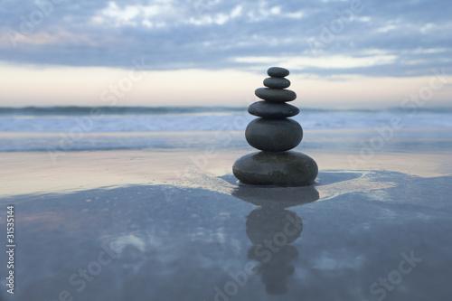 Fototapeten,zen,balance,kieselstein,abstrakt