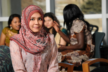 Islamic Young Woman