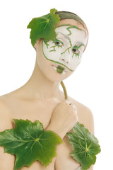 Skincare  with natural cosmetics