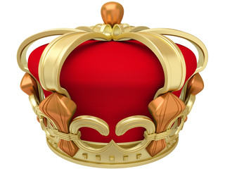 Gold imperial crown