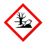 GHS Symbol Hazardous Aquatic Environment sign poster