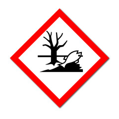 GHS Symbol Hazardous Aquatic Environment sign