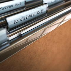 classement papiers archives, archivage des dossiers