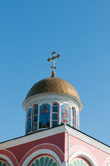 Church of Saints Konstantin and Elena in Abakan