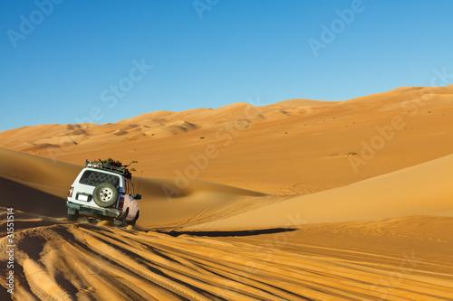 Fotobehang Woestijn Sahara Desert Safari