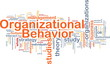 Organizational behavior is bone background concept
